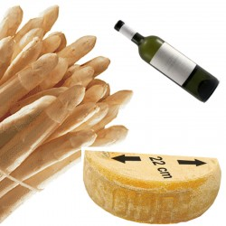 Pack asperges-vin-fromage...